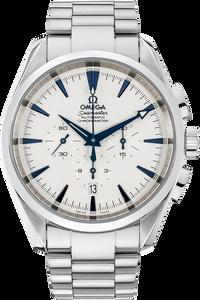 Stainless Steel Seamaster Aqua Terra Chronograph Automatic