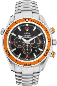 Stainless Steel Seamaster Planet Ocean Co-Axial Chronograph Automatic
