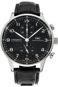 Stainless Steel Portuguese Chronograph Automatic