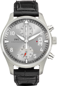 "Stainless Steel Pilot's Watch Chronograph Edition ""JU-Air"" Automatic"