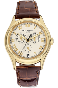 18K Yellow Gold Annual Calendar Automatic Reference 5035