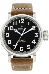 Stainless Steel Pilot Montre d'Aeronef Type 20 Automatic
