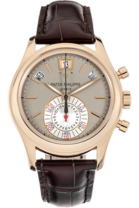 18K Rose Gold Annual Calendar Chronograph Automatic Reference 5960