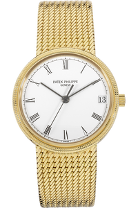 18K Yellow Gold Calatrava Automatic Reference 3802