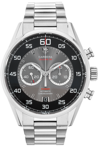 Stainless Steel Carrera Calibre 36 Chronograph Automatic