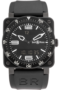 Stainless Steel BR03 Type Aviation Quartz
