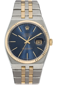 18K Yellow Gold and Stainless Steel Datejust Quartz