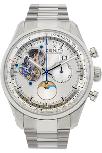 El Primero Chronomaster Open Grande Date Moonphase Stainless Steel Automatic