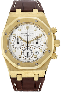 18K Yellow Gold Royal Oak Chronograph Automatic