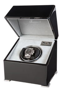 Perpetua II Ebony Mono Watch Winder