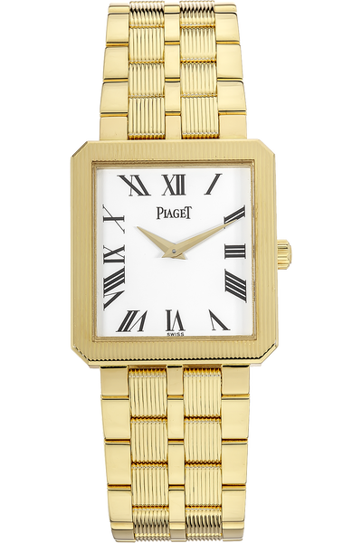 18K Yellow Gold Protocole Manual