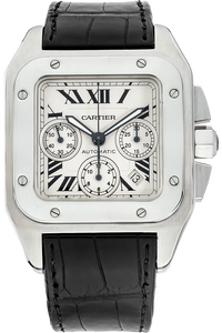 Stainless Steel Santos 100 Chronograph Automatic