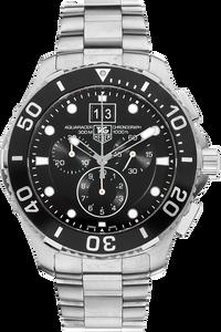 Aquaracer Big Date Chronograph Stainless Steel Quartz