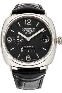 18K White Gold Radiomir 10 Days GMT Automatic