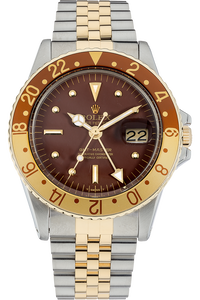 18K Yellow Gold and Stainless Steel GMT-Master Automatic Circa 1970