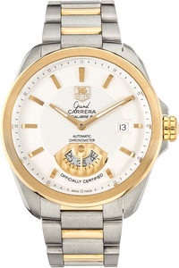 Grand Carrera Calibre 6 Yellow Gold and Stainless Steel Automatic