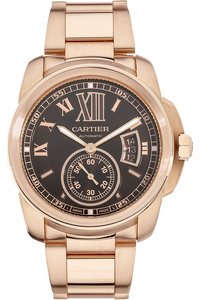 18K Rose Gold Calibre de Cartier Automatic