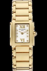 18K Yellow Gold Twenty-4 Quartz Reference 4907