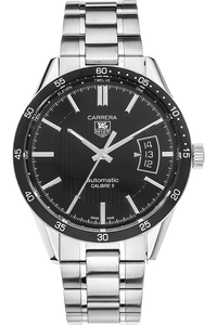 Stainless Steel Carrera Calibre 5 Automatic