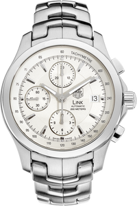 Stainless Steel Link Chronograph Automatic