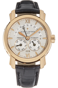 18K Rose Gold Malte Retrograde Perpetual Calendar Automatic