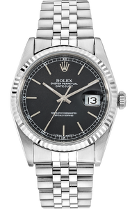 18K White Gold and Stainless Steel Datejust Automatic Circa 1987
