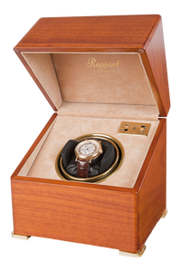 Perpetua II Satin Walnut Mono Watch Winder