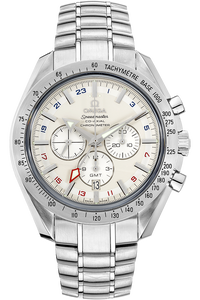 Stainless Steel Speedmaster Broad Arrow Co-Axial GMT Automatic
