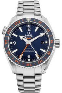 Seamaster Planet Ocean Co-Axial GMT Stainless Steel