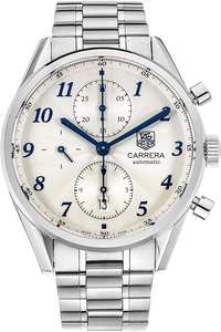 Stainless Steel Carrera Heritage Chronograph Automatic