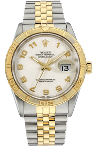 18K Yellow Gold and Stainless Steel Datejust Thunderbird Automatic