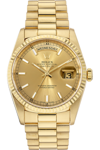 18K Yellow Gold Day-Date Automatic