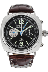 Stainless Steel Radiomir One/Eight Second Chronograph Automatic