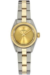 18K Yellow Gold and Stainless Steel Oyster Perpetual Automatic Circa 1975