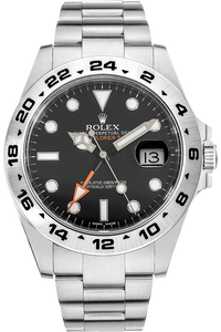 Stainless Steel Explorer II Automatic