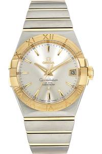 18K Yellow Gold and Stainless Steel Constellation Co-Axial Automatic