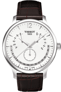 Tradition Men Silver Quartz Classic