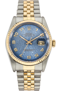 Datejust Circa 1987 Yellow Gold and Stainless Steel Automatic