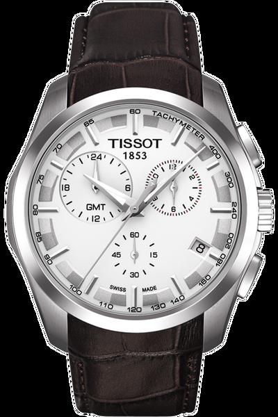 Couturier Men's GMT Silver Quartz Trend