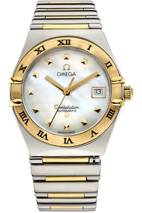 18K Yellow Gold and Stainless Steel Constellation My Choice Automatic