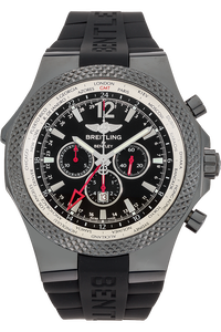 Bentley GMT Midnight Carbon Limited Edition DLC Stainless Steel Automatic