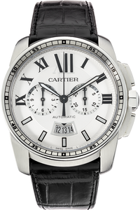 Stainless Steel Calibre de Cartier Chronograph Automatic