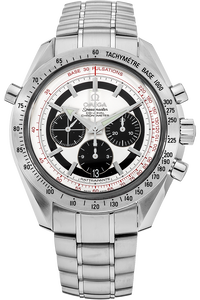 Speedmaster Broad Arrow Rattrapante Stainless Steel