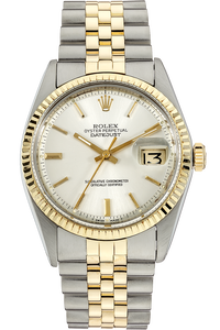 14K Yellow Gold and Stainless Steel Datejust Automatic Circa 1971