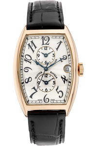 18K Rose Gold Master Banker Triple Time Zone Automatic