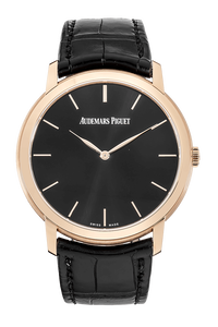 18K Rose Gold Jules Audemars Extra Thin Automatic