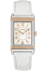 Grande Reverso Lady Ultra Thin Rose Gold and Stainless Steel