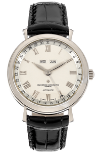 Triple Calendar White Gold Automatic