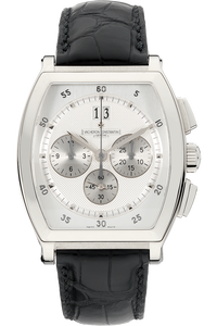 18K White Gold Malte Chronograph Automatic