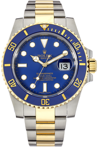 18K Yellow Gold and Stainless Steel Submariner Automatic